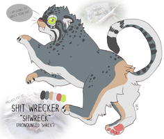The manul oc by CrookedLynx