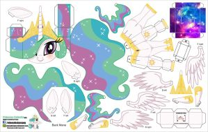 Princess Celestia (Joinys 009) by ELJOEYDESIGNS