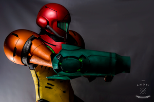 Samus Cosplay - Aim by d-slim