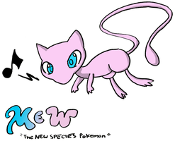 Mew colored by snowy-inferno
