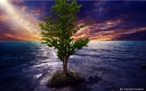 The OceanTree of Tranquility by VendettaHD