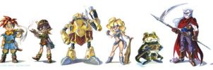Chrono Trigger by potatofarmgirl