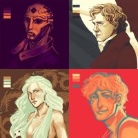 Palette Challenge - Fan Arts by AngieBlues