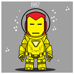 Iron Man  - Hydro Armor 1987 by Yeti-Labs