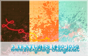 Textures Big Pack 02 1680x1050 by MischiefIdea