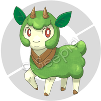 001 Mosheep by seepia