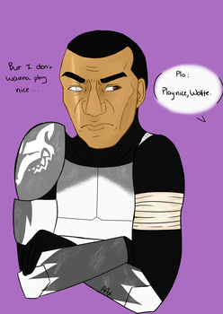 Wolffe 4c by AngelAxexinf