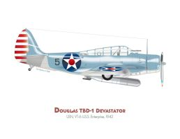 Douglas TBD Devastator by MercenaryGraphics