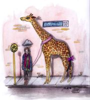 Therapy Giraffe by The-Nanette-O