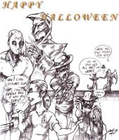 Halloween with the Pack... by MisterFerv
