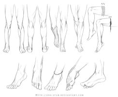 +LEGS AND FEET STUDY+ by jinx-star