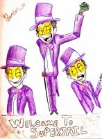 SuperJail-- The Warden by Undeniable-Love
