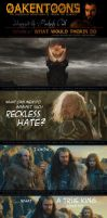 Oakentoon #3: What would Thorin do? by PeckishOwl
