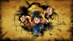 Luffy Desktop Background by Luffy-ThePirateKing
