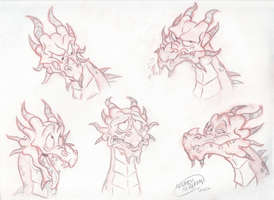 Odahviing Expressions Request by SharpDressedReptile