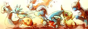 Pokemon : Baby Dragons