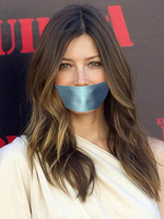 Jessica Biel gagged by CuteGirlsGagged