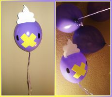 Drifloon Balloons by MidoriEyes