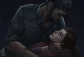 I'm not her, you know.......TLOU fan art by istarlove