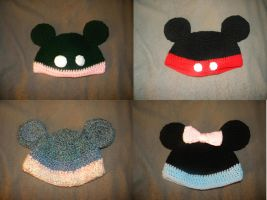 MM Hats by 2sisters34