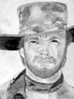 Clint Eastwood by ravr