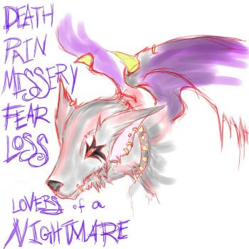Nightmare coloured by monster-art