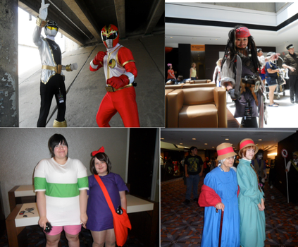 Anime Midwest 2013 Collage by Noellisty