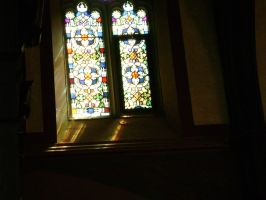 church window by MLeighS