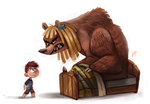 Day 521. Sketch Dailies Challenge - Goldilocks by Cryptid-Creations