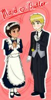 UKPH - Maid and Butler by adventvera16