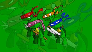 Heroes in a half shell by RobbanFoxer