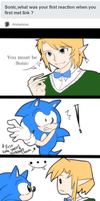 Ask Sonic and Link? by Pyon-Suki