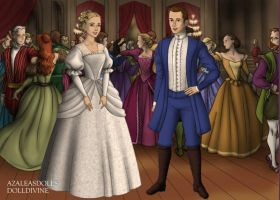 Marius and Cosette Wedding 2012 by KatePendragon