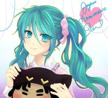 :..: Sweet Gift with Hatsune :..: by Kei-chan08