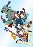 FLCL by fan-art-club