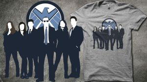 Agents Of Shield - Shirt by teebuster