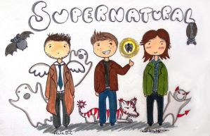 Supernatural by AlulaDreamCreations