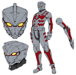 Ultraman Suit A Ver. by riderman09