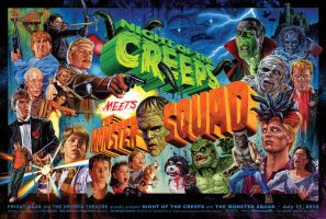 Creeps + Monster Squad by jasonedmiston