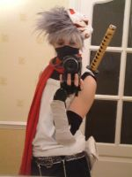 Anbu Kakashi Full Cosplay x2 by firecasterx2