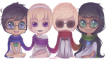 Beta chibis by Ringamon