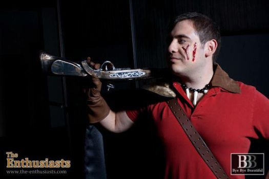 TD :: No One Falls like Gaston by AnimosityCosplay