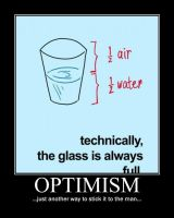 Optimism Demotivational by NeonVictorian