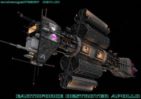 EARTHFORCE DESTROYER APOLLO by archangel72367