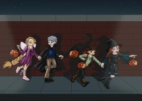 Big Four - Trick or Treat by Marilia-Barbosa