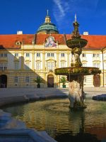 Austria - Fountain in Melk by AgiVega