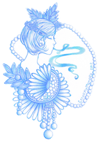 Drawing Daisies in Cool Colors by colormymemory