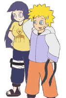 NaruHina - Excuse me... by Gaiash
