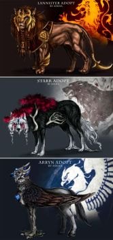 Game of Thrones Adopts by light-askha