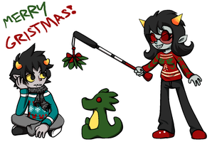 Merry Gristmas by Chocolate-Shinigami